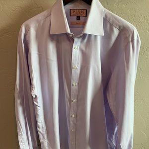 Thomas Pink Lilac Slim Fit Size 17